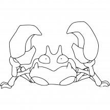 Coloriage Pokémon Krabby