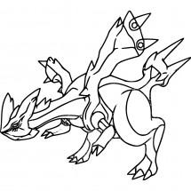 Coloriage Pokémon Kyurem
