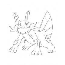 Coloriage Pokémon Laggron