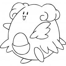 Coloriage Pokémon Leuphorie