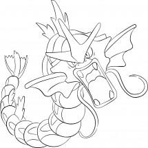 Coloriage Pokémon Léviator