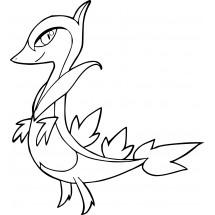 Coloriage Pokémon Lianaja