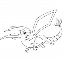 Coloriage Pokémon Libégon