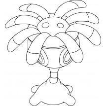 Coloriage Pokémon Lilia