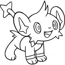 Coloriage Pokémon Lixy