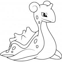 Coloriage Pokémon Lokhlass