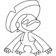 Coloriage Pokémon Lombre