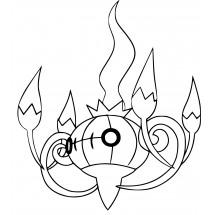 Coloriage Pokémon Lugulabre