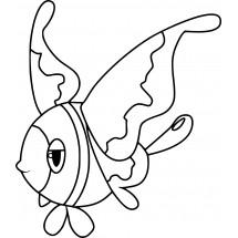 Coloriage Pokémon Luminéon