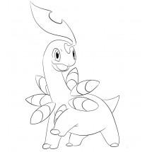 Coloriage Pokémon Macronium