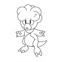 Coloriage Pokémon Magby