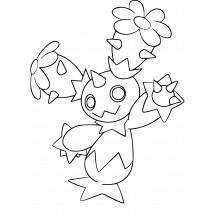 Coloriage Pokémon Maracachi