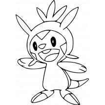 Coloriage Pokémon Marisson