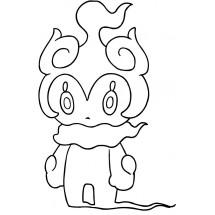 Coloriage Pokémon Marshadow