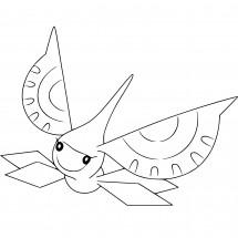Coloriage Pokémon Maskadra
