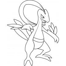 Coloriage Pokémon Massko