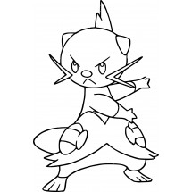 Coloriage Pokémon Mateloutre