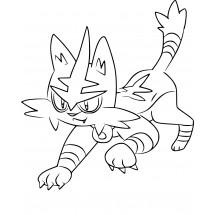 Coloriage Pokémon Matoufeu