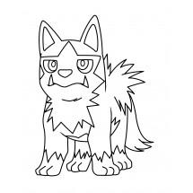 Coloriage Pokémon Medhyèna