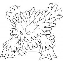 Coloriage Pokémon Méga-Blizzaroi