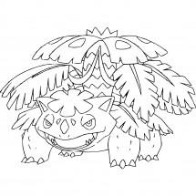 Coloriage Pokémon Méga-Florizarre