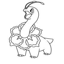 Coloriage Pokémon Méganium