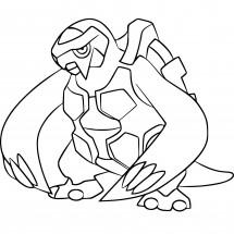 Coloriage Pokémon Mégapagos