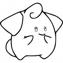 Coloriage Pokémon Mélo