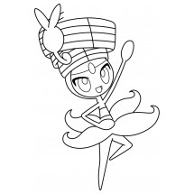 Coloriage Pokémon Meloetta forme Danse