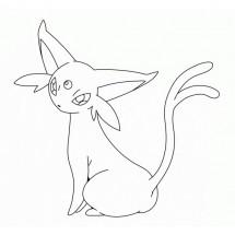 Coloriage Pokémon Mentali