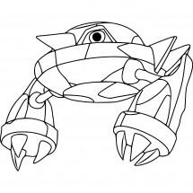 Coloriage Pokémon Métang