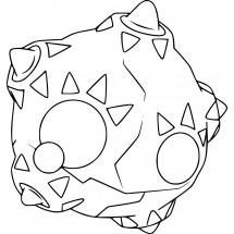 Coloriage Pokémon Météno