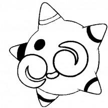 Coloriage Pokémon Météno forme Noyau Rouge