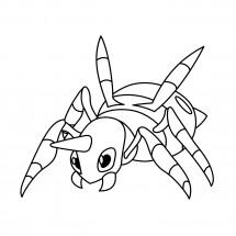 Coloriage Pokémon Migalos