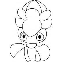 Coloriage Pokémon Mimantis