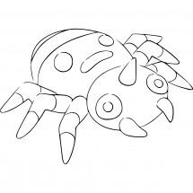 Coloriage Pokémon Mimigal
