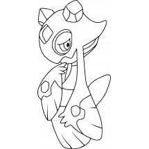 Coloriage Pokémon Momartik