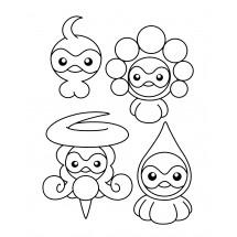 Coloriage Pokémon Morphéo