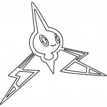 Coloriage Pokémon Motisma