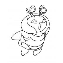 Coloriage Pokémon Muciole