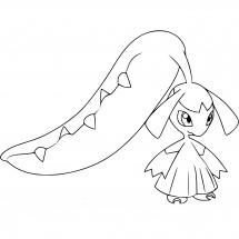 Coloriage Pokémon Mysdibule