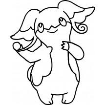 Coloriage Pokémon Nanméouïe