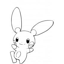 Coloriage Pokémon Négapi