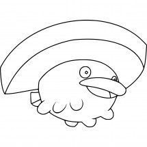Coloriage Pokémon Nénupiot