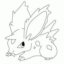 Coloriage Pokémon Nidoran Garçon