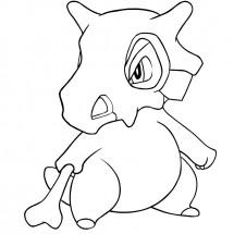 Coloriage Pokémon Osselait