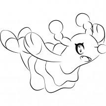 Coloriage Pokémon Otarlette