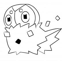 Coloriage Pokémon Pérégrain