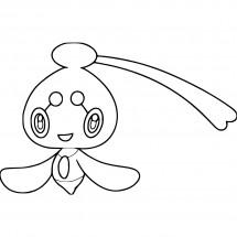Coloriage Pokémon Phione