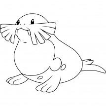 Coloriage Pokémon Phogleur